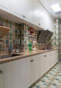 100平米三室两厅新古典风格厨房装修效果图