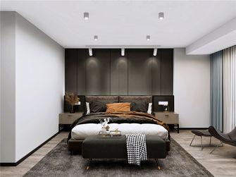 90平米复式现代简约风格卧室设计图