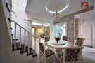 富裕型140平米复式北欧风格楼梯装修图片大全