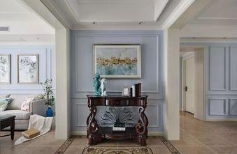 120平米三室五厅美式风格玄关图片大全