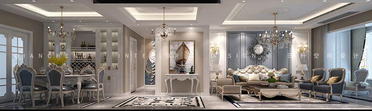 5-10万140平米三室三厅欧式风格玄关欣赏图