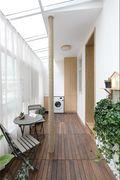 60平米一居室其他风格阳台设计图
