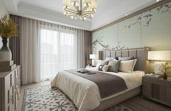 140平米公寓中式风格卧室欣赏图