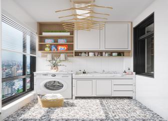 130平米三田园风格厨房设计图