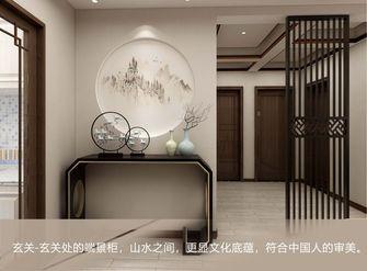 90平米三室两厅中式风格玄关图