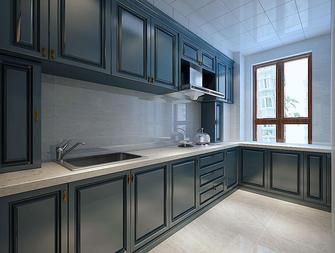 60平米美式风格厨房图