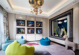 110平米三室两厅中式风格儿童房图片大全