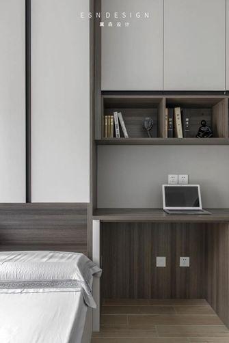 130平米三室三厅现代简约风格书房欣赏图