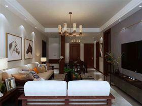 110平米三室一厅中式风格客厅装修案例