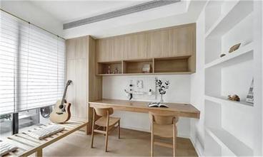 100平米三室两厅日式风格书房欣赏图