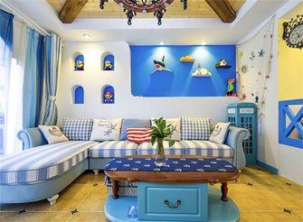 90平米地中海风格客厅图
