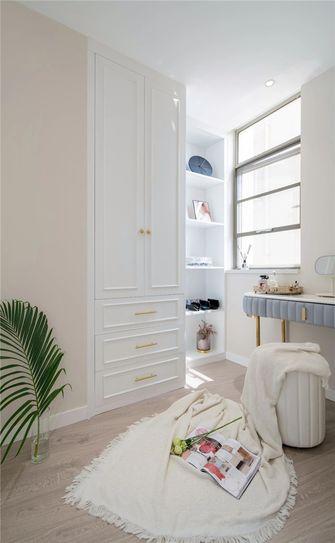 140平米三室一厅欧式风格衣帽间图