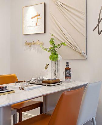 130平米三室两厅英伦风格餐厅装修图片大全