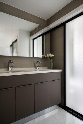 90平米三室一廳現代簡約風格衛生間裝修案例