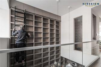140平米现代简约风格楼梯间效果图