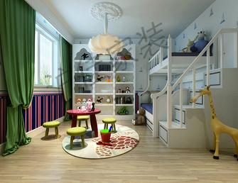 140平米别墅法式风格儿童房效果图