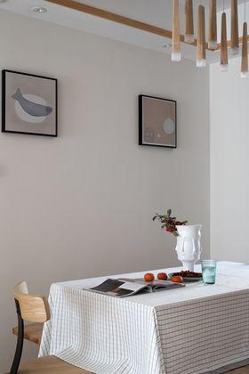 110平米三室兩廳日式風格餐廳效果圖
