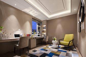90平米三室一厅现代简约风格健身室装修图片大全
