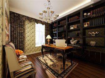 130平米三室两厅欧式风格书房橱柜装修图片大全