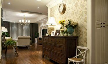 130平米三室两厅美式风格玄关欣赏图