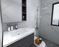 110平米三室两厅中式风格卫生间设计图