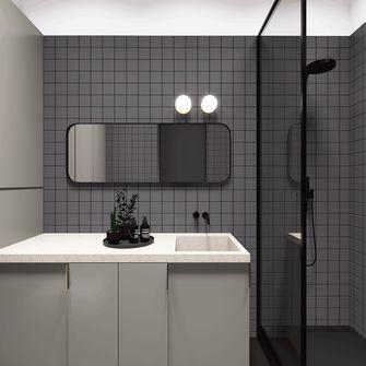 70平米公寓英伦风格卫生间装修图片大全