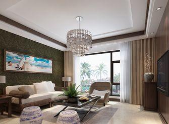 10-15万110平米三室两厅东南亚风格客厅欣赏图