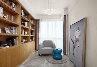 130平米三室两厅混搭风格影音室装修效果图