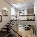 140平米复式英伦风格楼梯间图