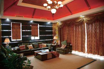 130平米复式东南亚风格客厅装修图片大全