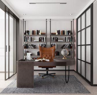 80平米现代简约风格书房效果图