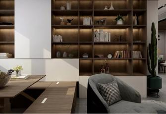 80平米公寓现代简约风格储藏室装修图片大全