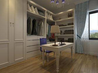 120平米三室一厅地中海风格衣帽间图片