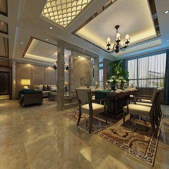 130平米四室一厅中式风格餐厅图