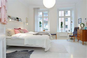 80平米公寓宜家风格卧室装修案例