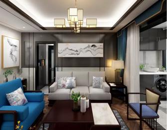 60平米公寓中式风格客厅设计图