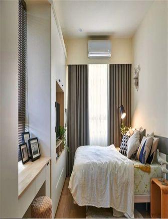 110平米三室一厅北欧风格卧室欣赏图