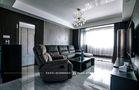 富裕型120平米三室两厅现代简约风格客厅图片