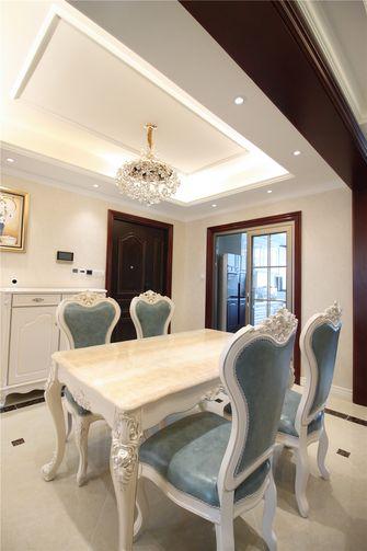 富裕型120平米三室两厅欧式风格餐厅欣赏图