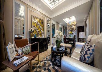 110平米欧式风格客厅图片