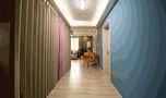 100平米三室两厅宜家风格走廊欣赏图