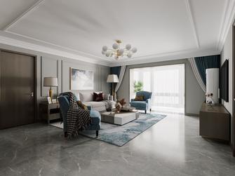 140平米四室两厅现代简约风格客厅设计图