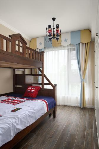 130平米三室三厅美式风格儿童房图片大全