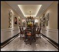 140平米四室两厅田园风格餐厅图片大全