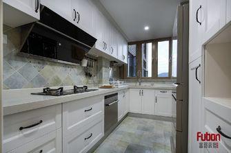 100平米三室一厅英伦风格厨房设计图