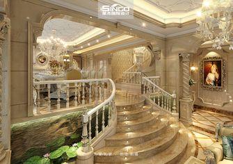豪华型140平米别墅欧式风格楼梯设计图