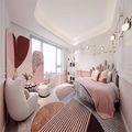 140平米四室一厅欧式风格儿童房装修图片大全