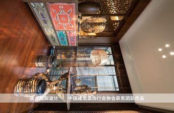 100平米三室三厅东南亚风格餐厅效果图