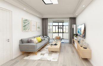70平米四室一厅日式风格客厅图
