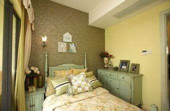120平米三室两厅田园风格卧室效果图